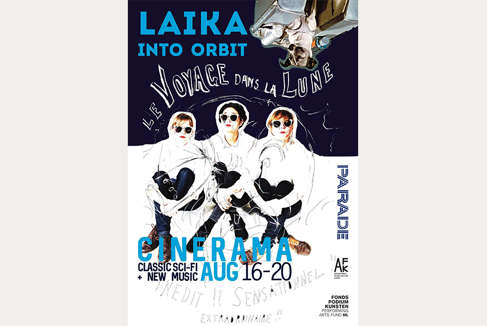 Laika into orbit – Parade Amsterdam